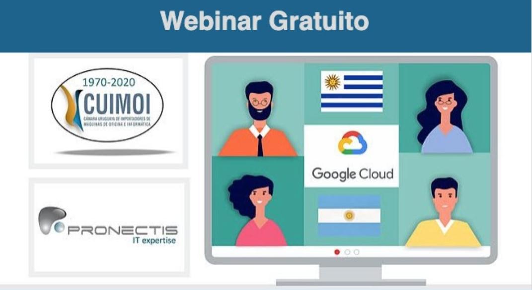Hablemos sobre Google Workspace  (Webinar Gratuito)